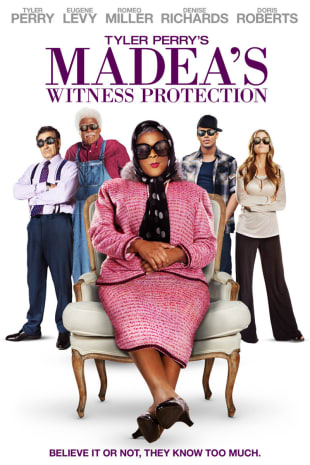 movie poster for Tyler Perry's Madea's Witness Protection