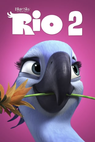 movie poster for Rio 2