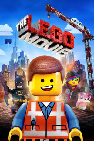 movie poster for The LEGO Movie