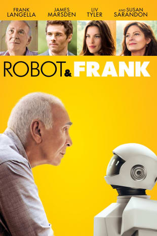 movie poster for Robot & Frank