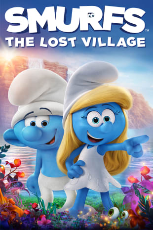 movie poster for Smurfs: The Lost Village