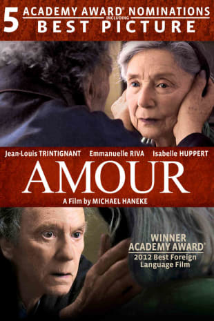 movie poster for Amour