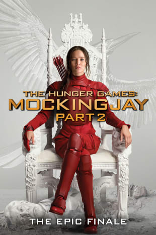 movie poster for The Hunger Games: Mockingjay Part 2