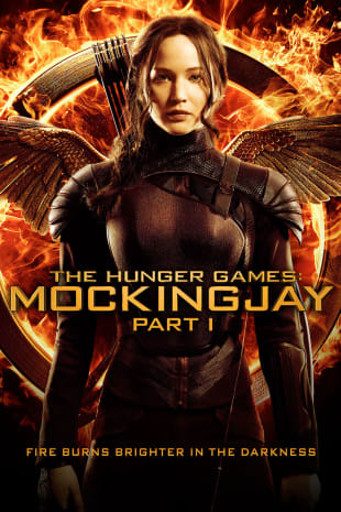 movie poster for The Hunger Games: Mockingjay, Part 1