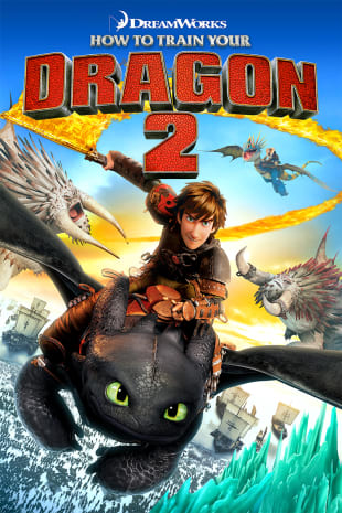 movie poster for How To Train Your Dragon 2