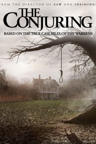 movie poster for The Conjuring