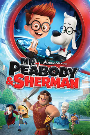 movie poster for Mr. Peabody And Sherman