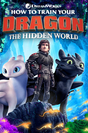 movie poster for How To Train Your Dragon: The Hidden World