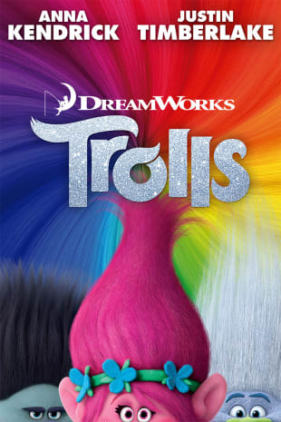 movie poster for Trolls