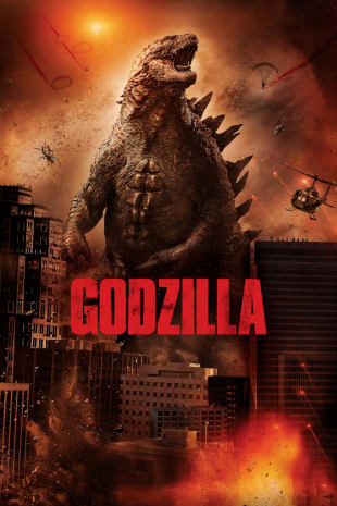 movie poster for Godzilla (2014)