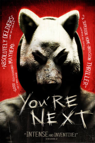 movie poster for You're Next