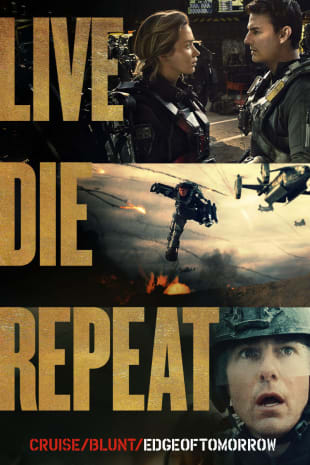 movie poster for Edge Of Tomorrow
