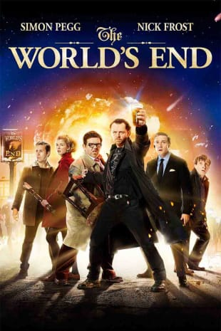 movie poster for The World's End