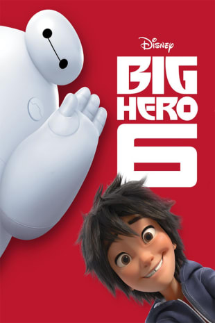 movie poster for Big Hero 6