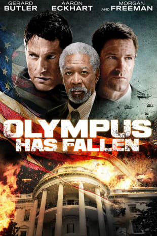 movie poster for Olympus Has Fallen