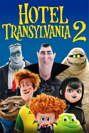 movie poster for Hotel Transylvania 2