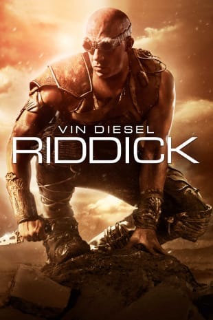 movie poster for Riddick