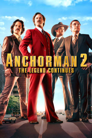 movie poster for Anchorman: The Legend Continues