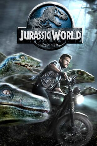 movie poster for Jurassic World