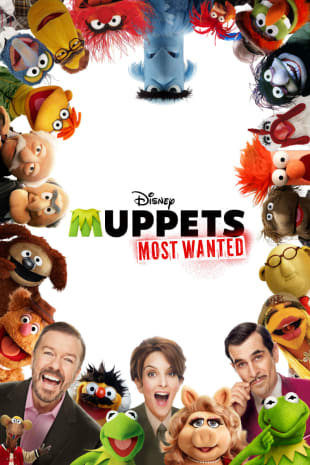 movie poster for Muppets Most Wanted