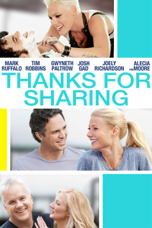 movie poster for Thanks For Sharing
