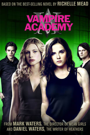 movie poster for Vampire Academy