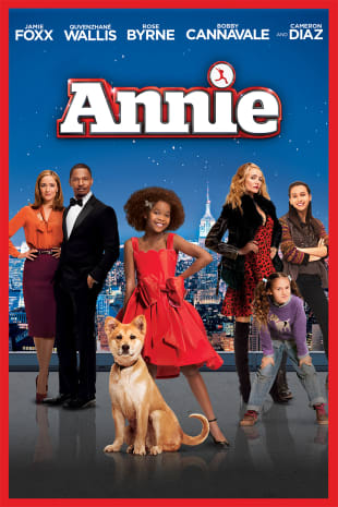 movie poster for Annie