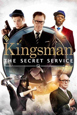 movie poster for Kingsman: The Secret Service