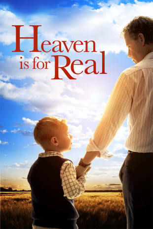 movie poster for Heaven Is For Real