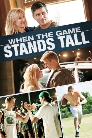 movie poster for When The Game Stands Tall