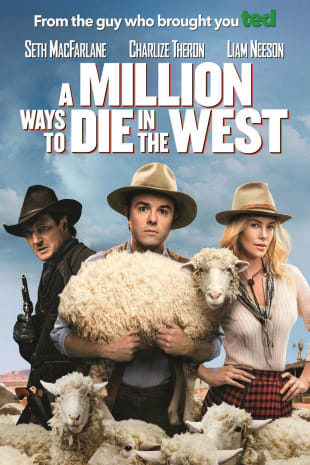 movie poster for A Million Ways To Die In The West