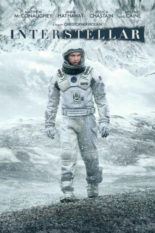 movie poster for Interstellar