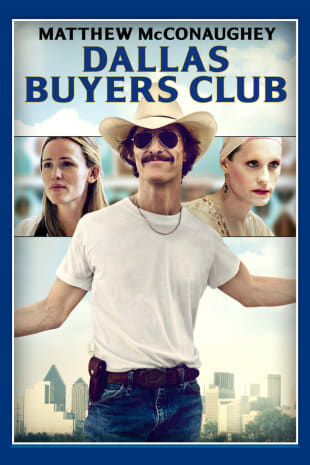 movie poster for The Dallas Buyers Club