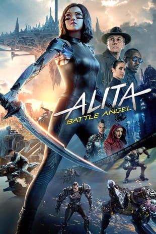 movie poster for Alita: Battle Angel