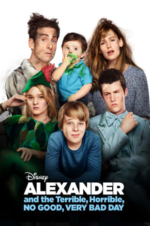 movie poster for Alexander And The Terrible, Horrible, No Good, Very Bad Day