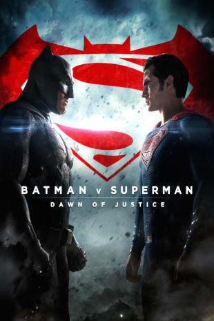 movie poster for Batman V. Superman: Dawn Of Justice