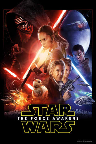 movie poster for Star Wars: The Force Awakens