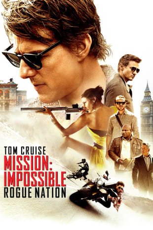 movie poster for Mission: Impossible - Rogue Nation