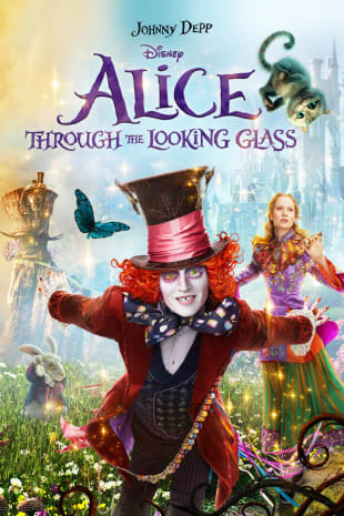 movie poster for Alice Through the Looking Glass