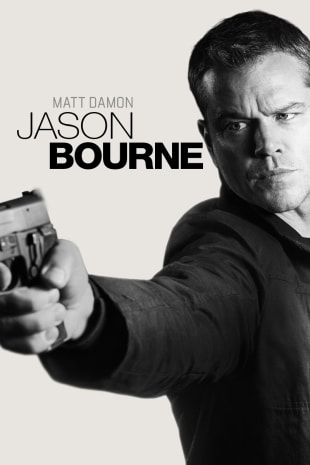 movie poster for Jason Bourne