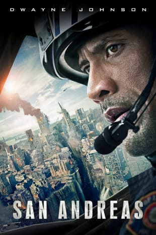 movie poster for San Andreas
