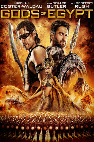 movie poster for Gods Of Egypt