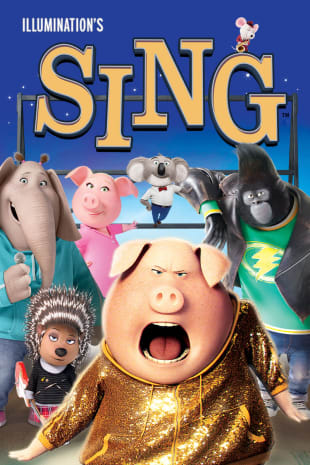 movie poster for Sing