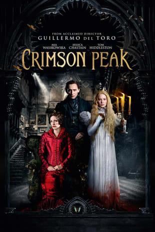 movie poster for Crimson Peak