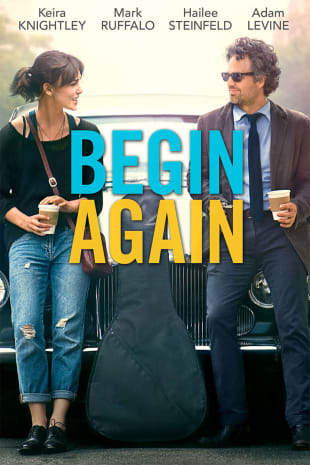 movie poster for Begin Again