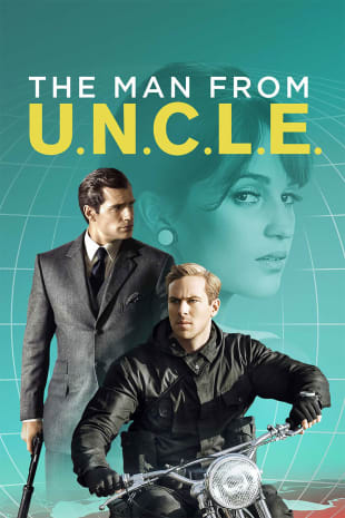 movie poster for The Man From U.N.C.L.E.