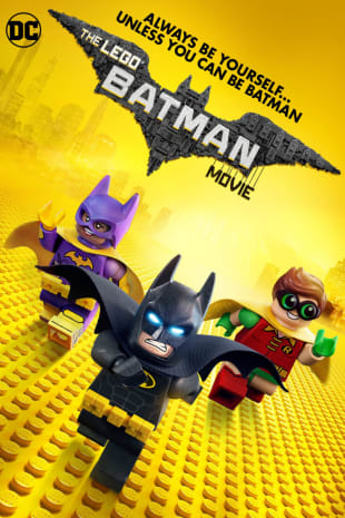 movie poster for The Lego Batman Movie