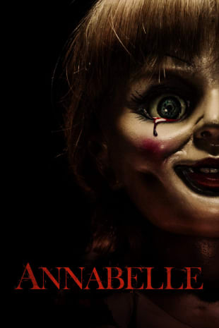 movie poster for Annabelle