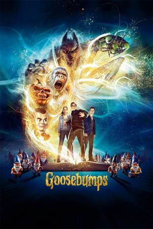 movie poster for Goosebumps