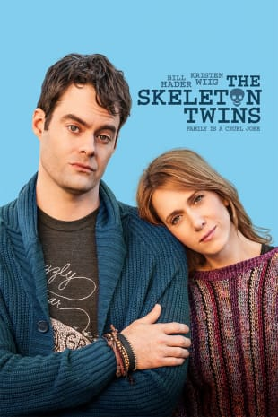 movie poster for The Skeleton Twins
